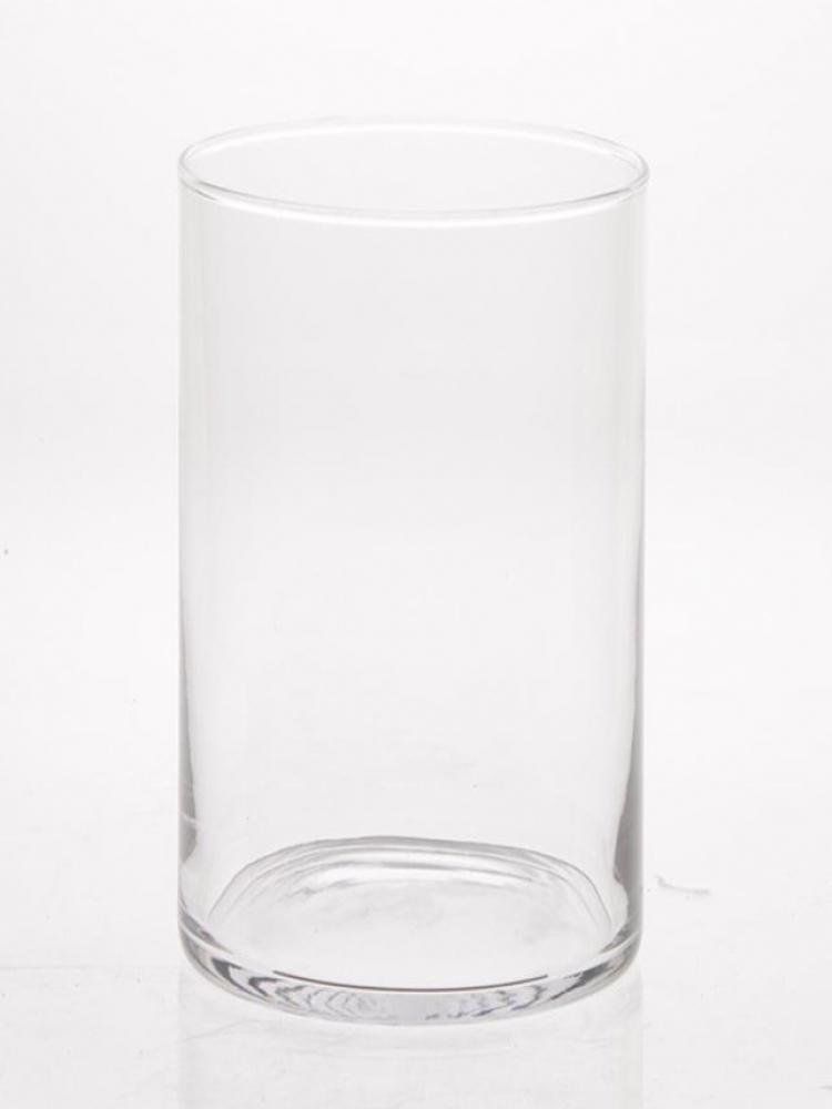 Skleněná váza CYLINDER d10cm v26cm