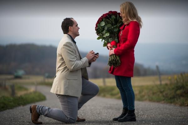 100 růží - hluboká láska