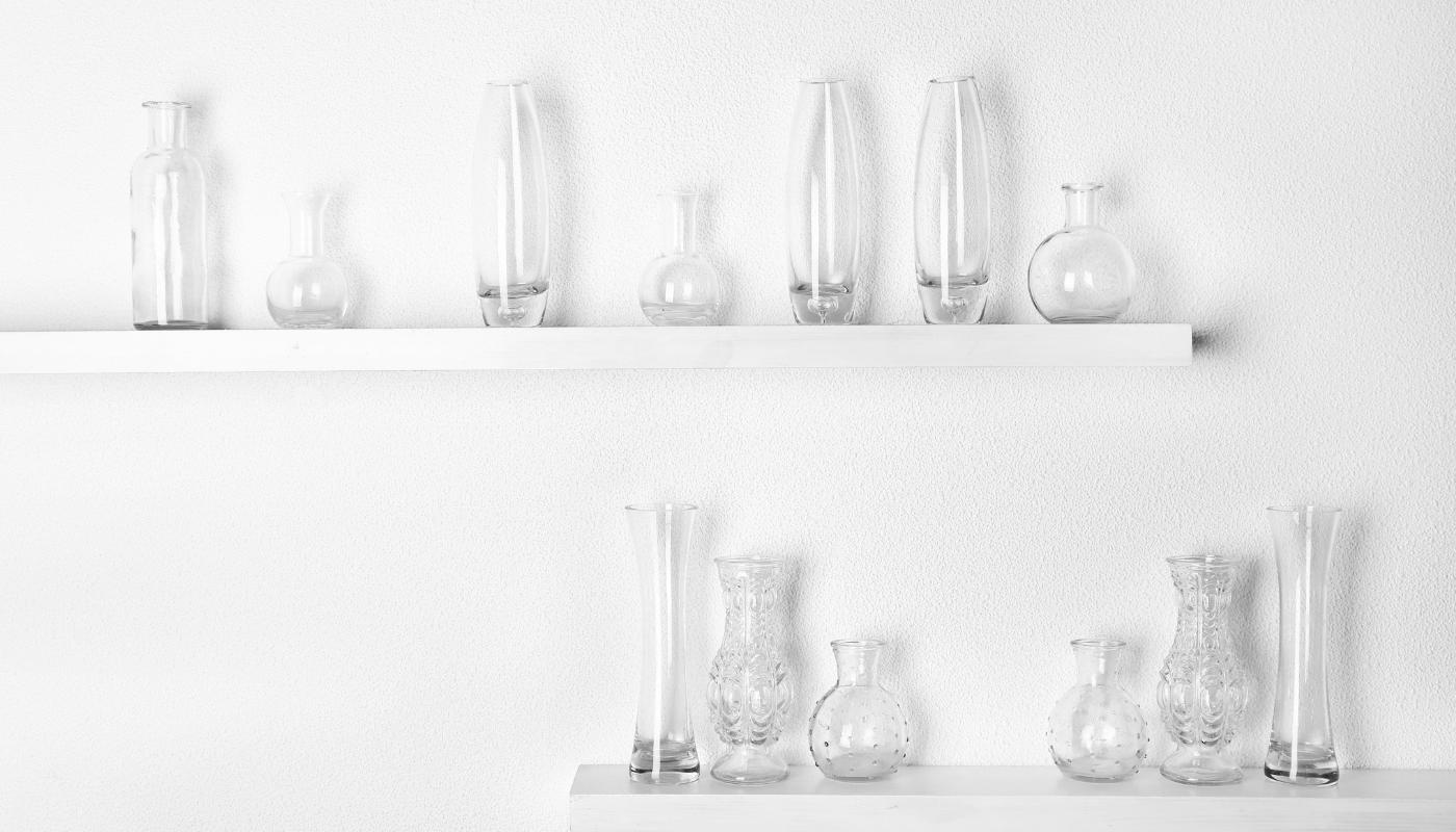 Skleněné vázy