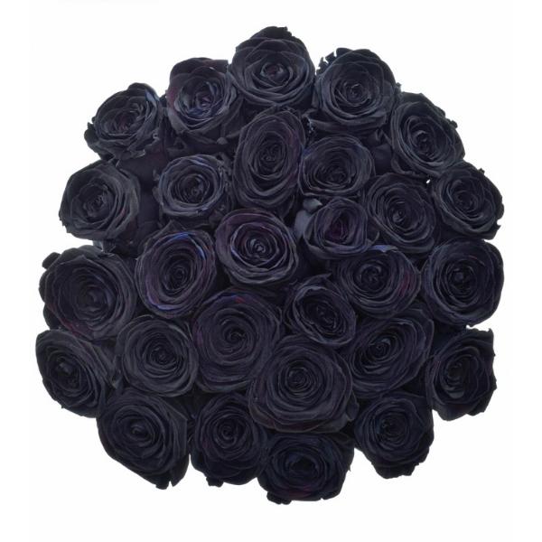 Kytice černých růží Black Red Naomi