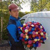 Když je doručování květin akční povolání