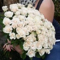 Představujeme: kytice bílých růží