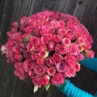 Představujeme: kytice růžových růží