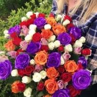 Představujeme: míchaná kytice růží