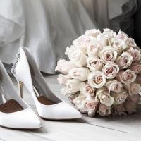 Zimní svatební kytice