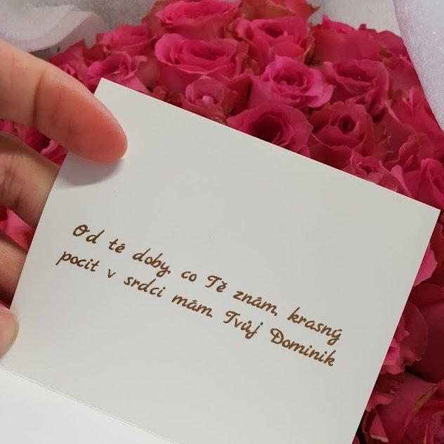 Valentýn 2020 - jaký vzkaz poslat s kyticí?