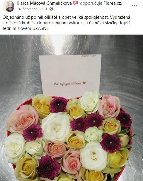 Vydražte si čerstvou kytici Florea za skvělou cenu!