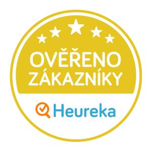 97 % spokojených zákazníků! Ověřeno na Heureka.cz
