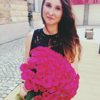 Dárek od manžela - kytice růží