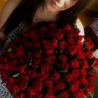 Sto červených růží