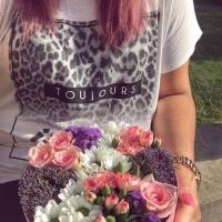 Květinová krabička na přání