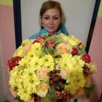 Míchaná kytice na přání