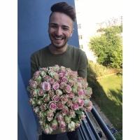 Doručení 100kusové kytice růží Dreamland