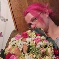 Doručená aukční kytice