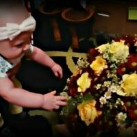 Doručená kytice pro dceru a maminku