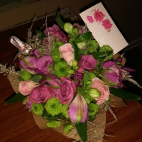 Doručená kytice