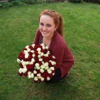 Doručení kytice sto růží