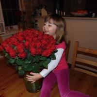 Kytice 100 kusů červených růží El Toro