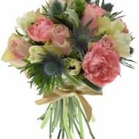 Míchané kytice květin