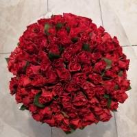 Kytice 100 růží El Toro