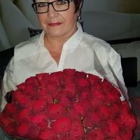 Kytice 60 růží Rhodos 60cm