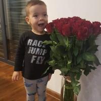 Kytice červených růží Nazca