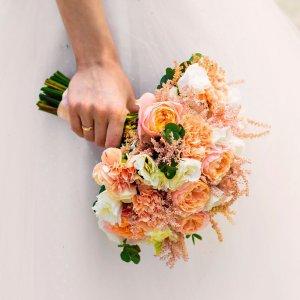 Svatební kytice na házení
