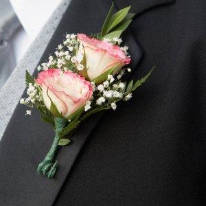 Svatební korsáž pro svědka