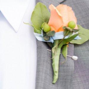Svatební korsáž pro tatínky