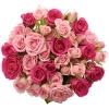 Kytice trsových růží