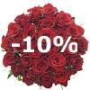 Kytice 25 růží
