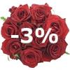 Kytice 9 růží