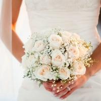 Růže na svatbu