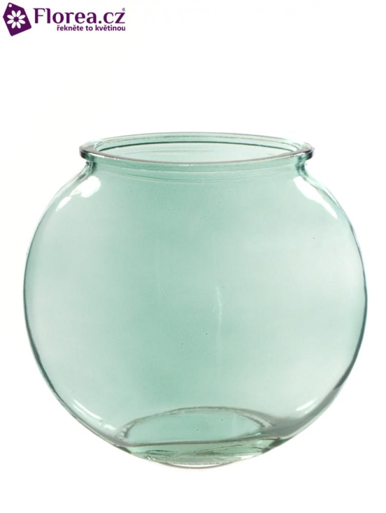 Skleněná váza BETTI v14cm