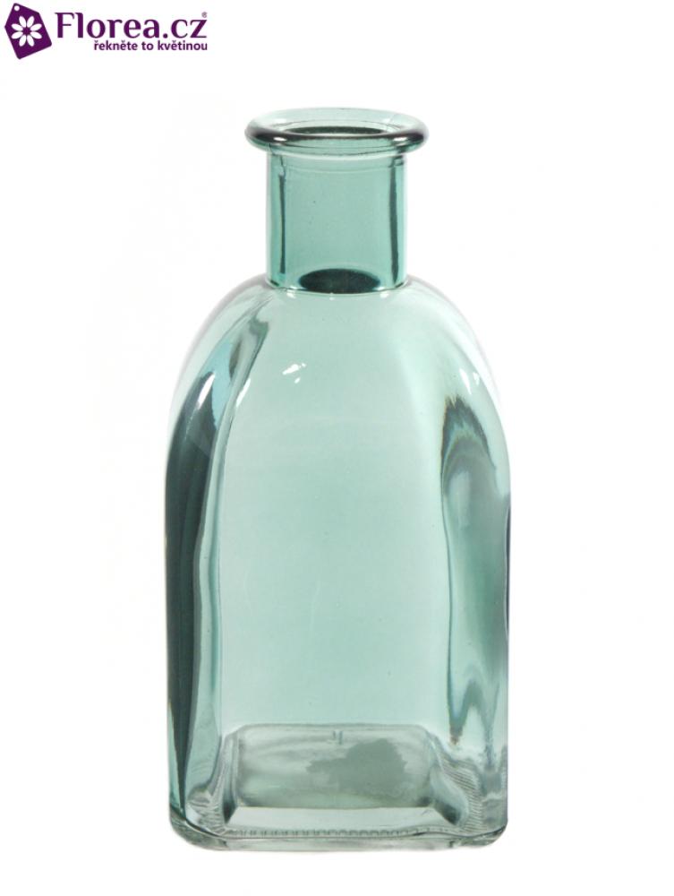 Skleněná váza BONIE v13cm-modrá