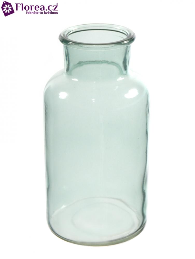 Skleněná váza BRANDI v16cm-modrá