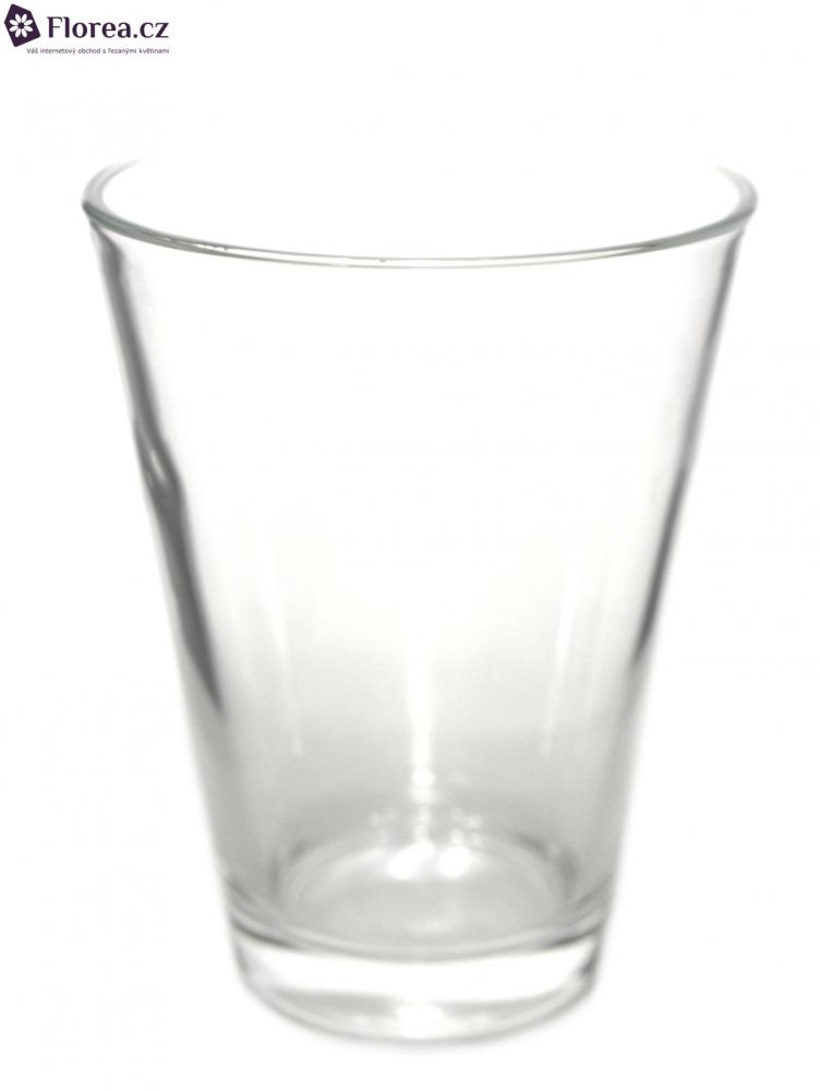 Skleněná váza DENVER d11cm v15cm