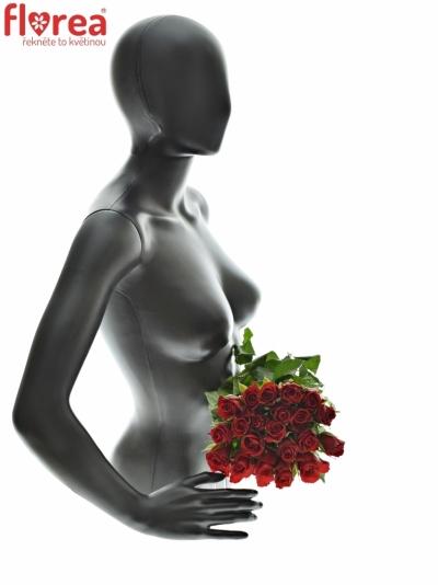 Kytice 21 růží Red Calypso