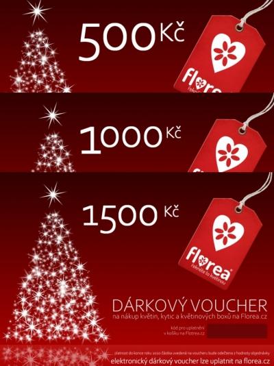 Dárkový voucher Florea 500 Kč (tištěný)