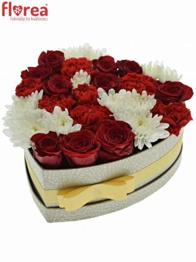 Krabička květin ISAHELLA 24x10cm
