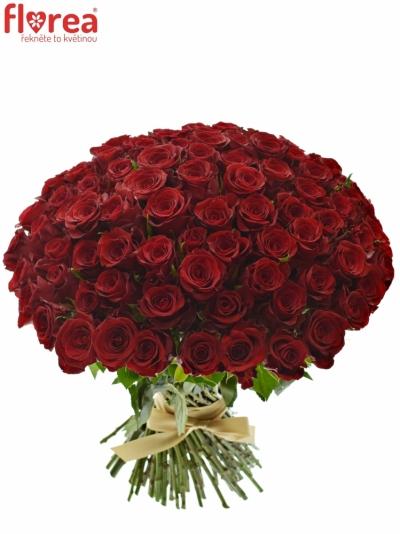 Kytice 100 červených růží MILLION REASONS
