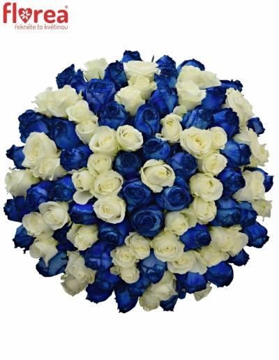 Kytice 100 míchaných růží MARELLA