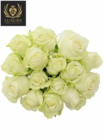 Kytice 15 luxusních růží ADALONIA 90cm