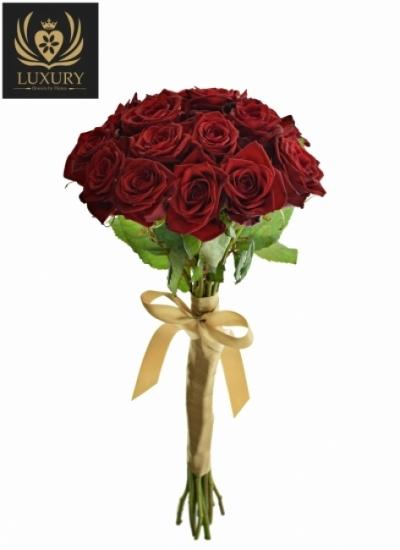 Kytice 15 luxusních růží TESTAROSSA