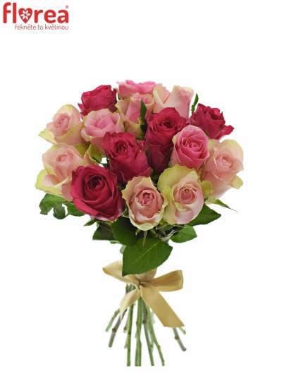 Kytice 15 míchaných růží ALHIVIA