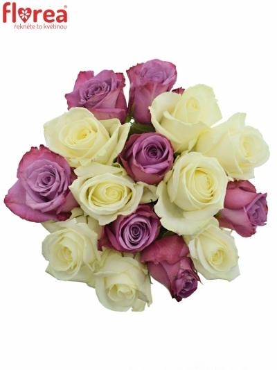 Kytice 15 míchaných růží ANETE