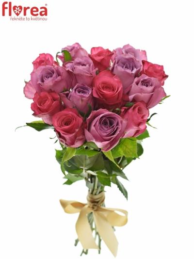 Kytice 15 míchaných růží BENAYA