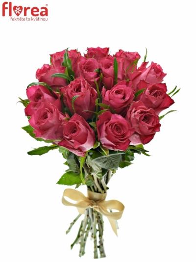 Kytice 15 růžových růží CANDIDATE!