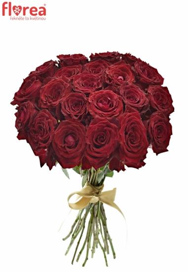 Kytice 21 červených růží ABBA