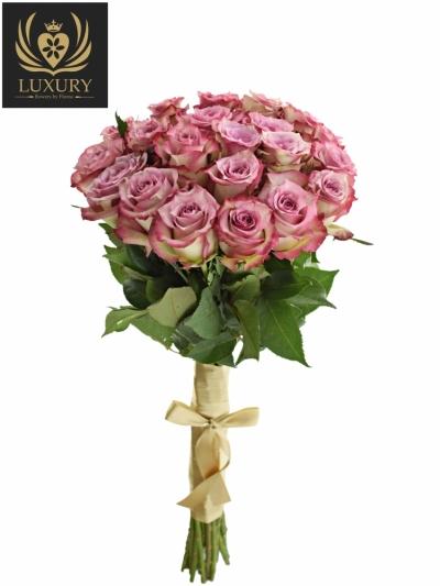 Kytice 21 luxusních růží MELINA 50cm